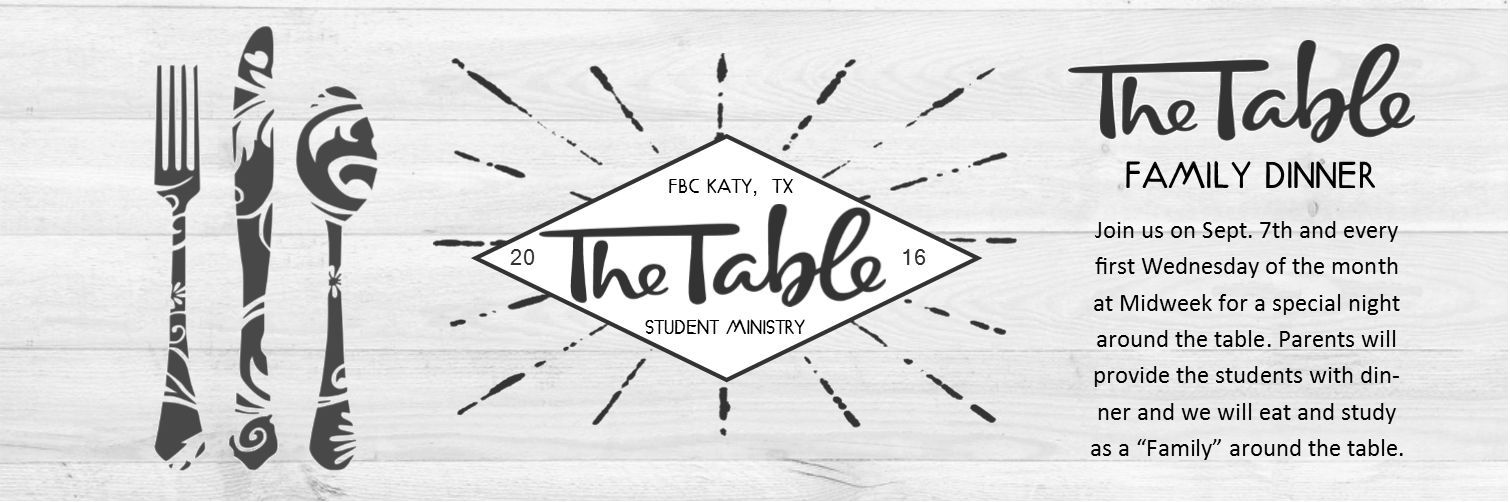 The Table banner