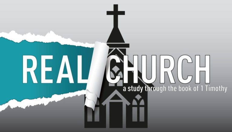 Real Church / 1 Timothy 6:1-2